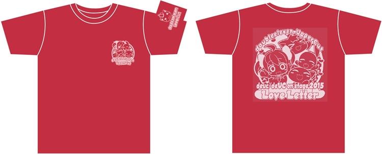 deUCオリジナル LoveLetter Tシャツ
